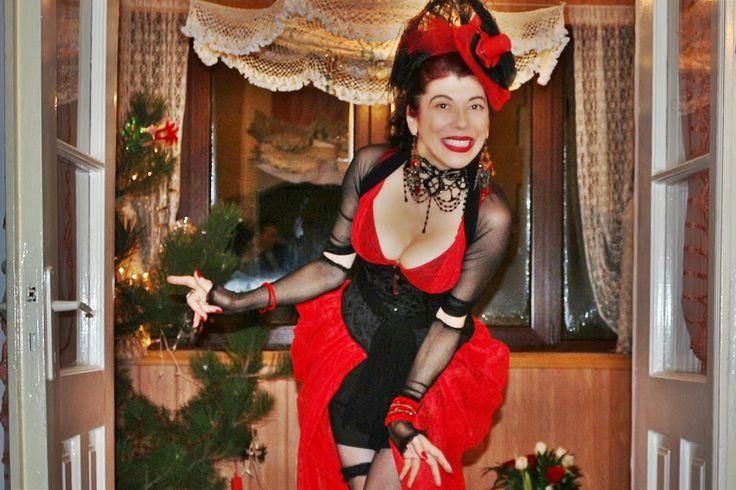 uncinetto moda e fantasia: costume moulin rouge