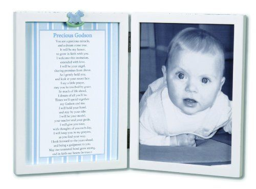 Precious Godson/Goddaughter Frame with Poem