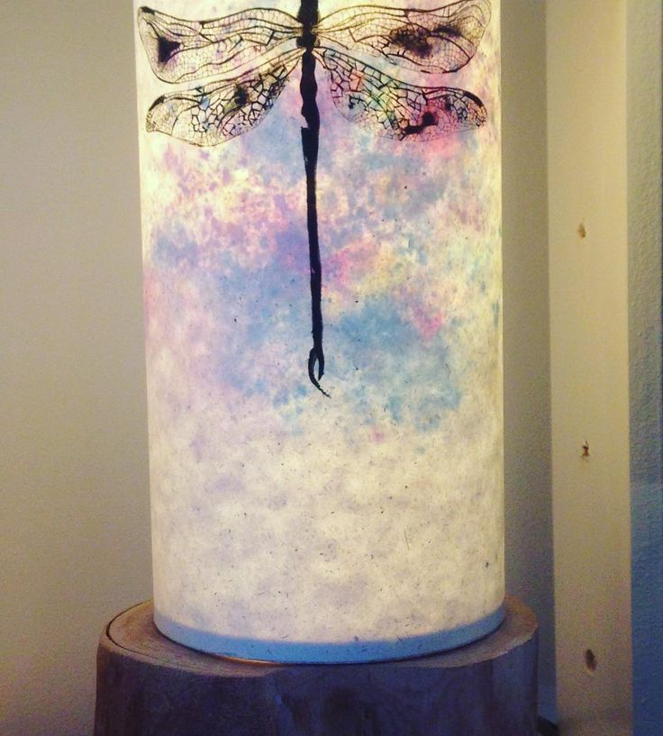 Stunning #handpainted #lamps from @siluetalights this #dragonfly lamp comes with a gorgeous wooden base and is only 65 #handmade #lightupmyworld