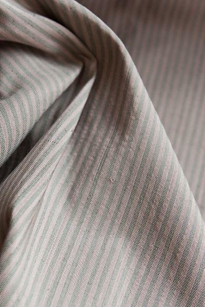 Fair trade / hand woven pinstripe  Tammachat Natural textiles