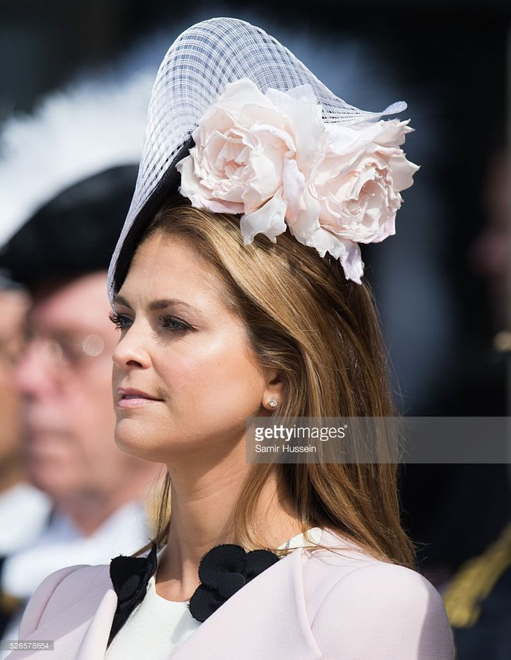 Princess Madeleine of Sweden attends the celebrations of the Swedish Armed Forces for the 70th birthday of King Carl Gustaf of Sweden on April 30, 2016 in Stockholm, Sweden. (Photo by Samir Hussein/WireImage)