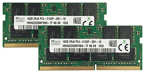 Hynix Original 32GB 2x16GB Laptop Memory Upgrade for Acer Predator 17 G979178A4 DDR4 2133 PC417000 SODIMM 2Rx8 CL15 12v Notebook RAM Adamanta * Click on the image for additional details.