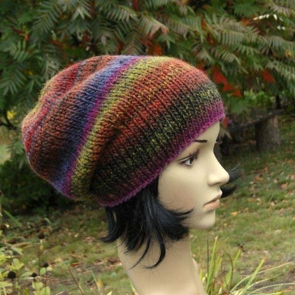 Melanż jesieni / czapka - Czapki, berety - Ubrania