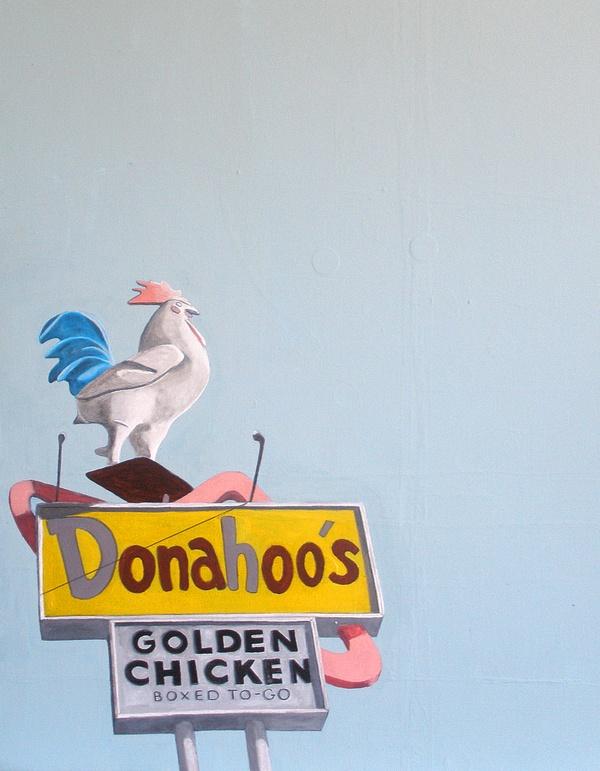 Donahoo's Painting by Virginia Earle, via Behance