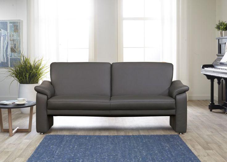 BALTIMORE strakke zitbank met grandioos zitcomfort in super KWALITEITSLEDER! Actieprijs VANAF € 955,-