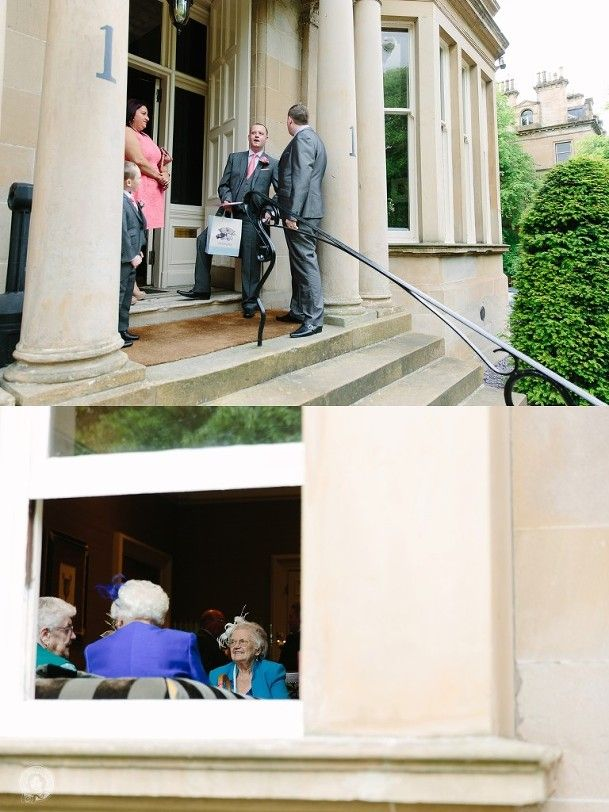 guests arriving at Wedding One Devonshire Gardens, Glasgow by Struve Photography