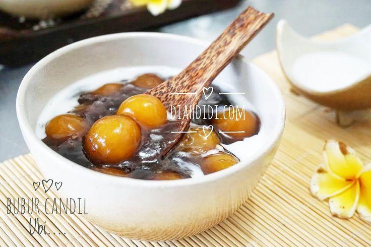 Diah Didi's Kitchen: Bubur Candil Ubi