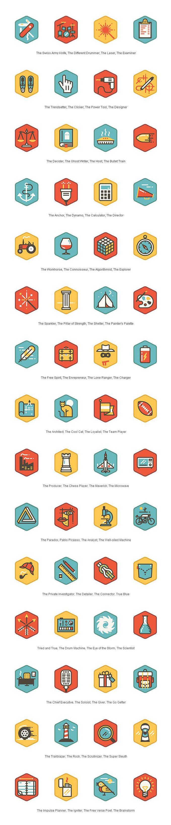 TidePool #icons #illustration #pictograms