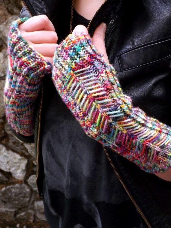 123 Best Fingerless Gloves Images On Pinterest Fingerless Mittens
