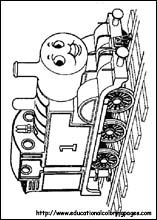 Thomas The Train Coloring Pages
