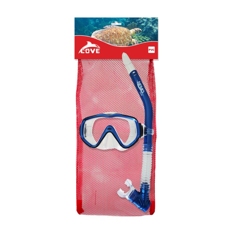 • PVC Mask and Snorkel Set • Soybean technology used to reduce PVC oders