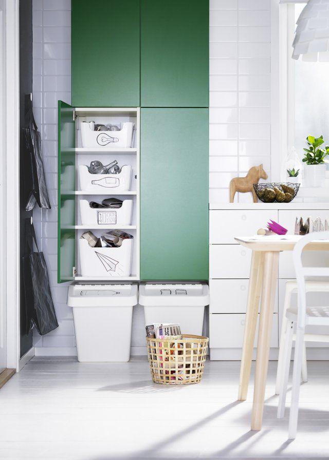 <p>Qui a dit que le recyclage n'était pas facile ? Certainement pas IKEA ! Pour nous aider à adopter de bonnes habitudes de vie et de consommation, ces grands placards o...