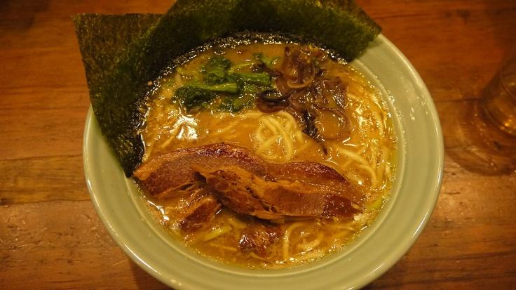 角煮ラーメン@横浜家 (横浜)