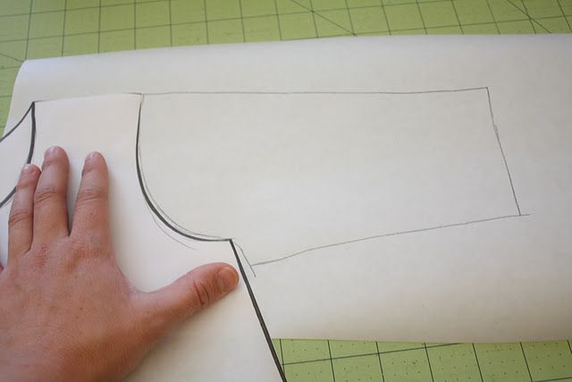 I can never get armholes right when making my own pattern, and THIS is why!