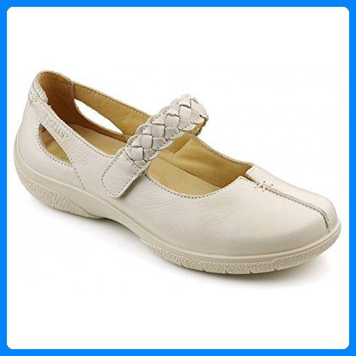 Hotter , Damen Mary Jane Halbschuhe, Beige - beige - Größe: 4.5 UK - Mary jane halbschuhe (*Partner-Link)