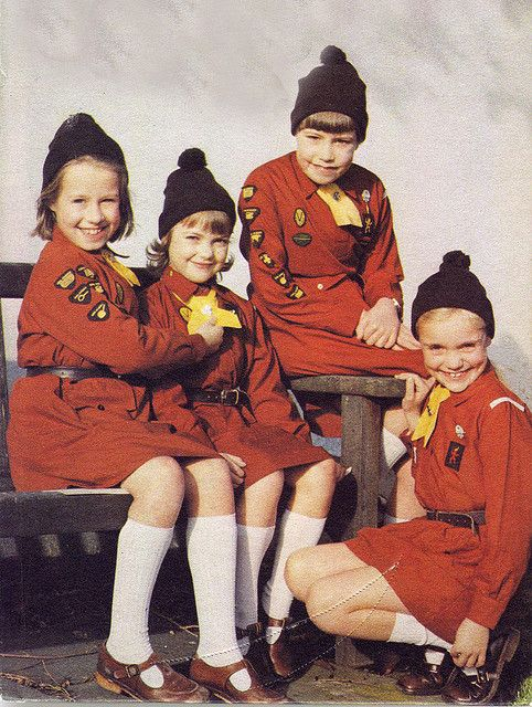 Brownies in the old uniform