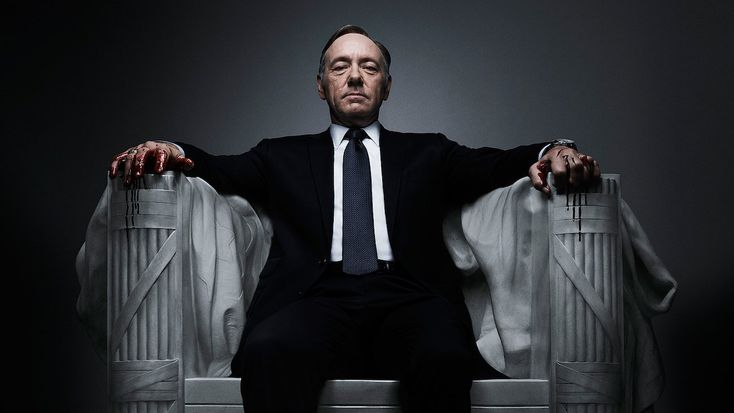House of Cards - Created by Beau Willimon.  With Kevin Spacey, Michel Gill, Robin Wright, Kate Mara. A Congressman works with his equally conniving wife to exact revenge on the people who betrayed him.