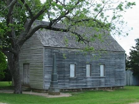 Washington-on-the-Brazos, where the Texas Declaration of Independence was signed after futile attempts to force Santa Anna to honor the Mexican Constitution of 1822