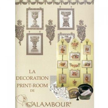 PRINT ROOM DECORATION Lingua francese. La decorazione Prin-Room, storia e tecnica, foto, schede passo- passo e materiali di semplice reperibilità.