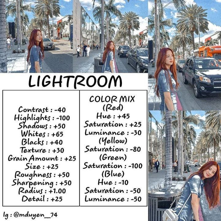 How to see camera settings in lightroom