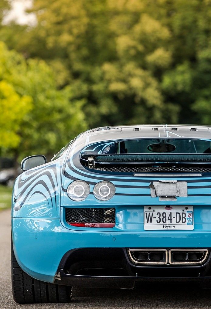 Bugatti Veyron Supersport Saphir