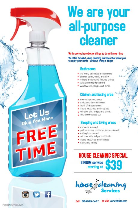 Best Cleaning Services Images On   Flyer Template