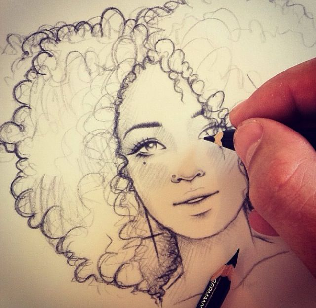 #rikleeillustration art inspiration - love his line work  #Portrait https://www.facebook.com/Rikleeillustration/photos_stream