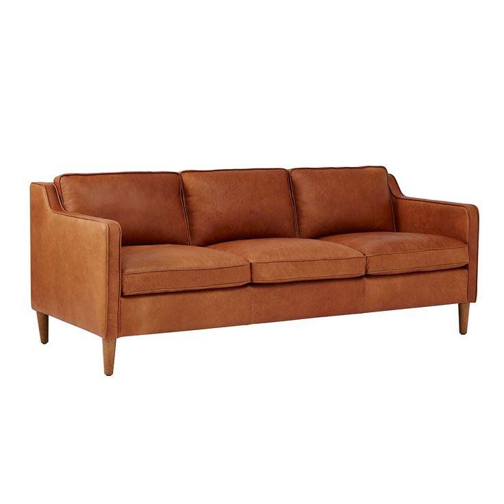 Buywest elm Hamilton 3 Seater Sofa, Sienna Online at johnlewis.com