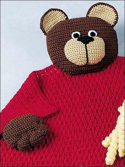 Bear Blanket Buddy: