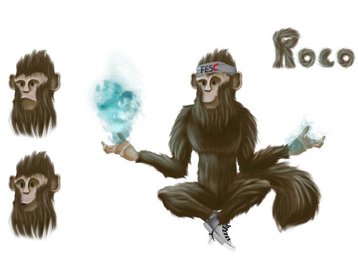 "Consulta mi proyecto @Behance: """"Roco"" Mascota"" https://www.behance.net/gallery/47630177/RocoMascota"