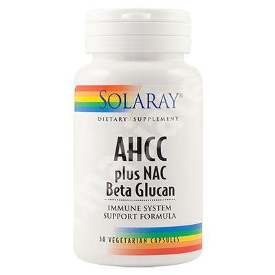 AHCC Solaray, 30 tablete, Secom [076280749748] - medicamente recomandate pentru DIVERSE