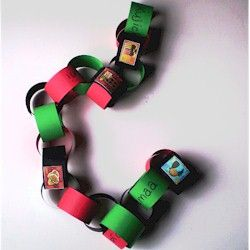 Kids Craft: Decorate with a Kwanzaa Paper Chain