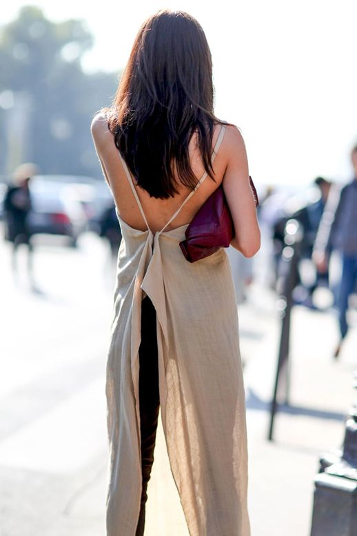 A Fun And Flirty Way To Style A Draped Top