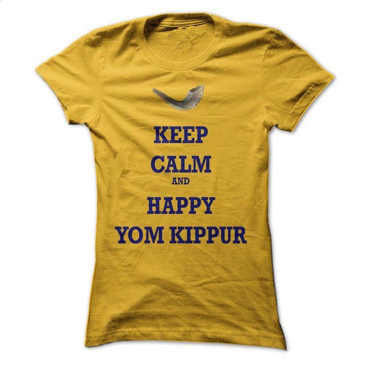 Happy yom kippur 2014 T Shirts, Hoodies, Sweatshirts - #fitted shirts #hooded sweater. GET YOURS => https://www.sunfrog.com/Holidays/Happy-yom-kippur-2014-Orange-Ladies.html?60505