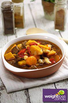 Persian Lamb & Pumpkin Soup Recipe. #HealthyRecipes #SoupRecipes #WeightLossRecipes weightloss.com.au