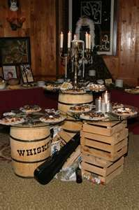 WOW...we did a search for Roaring 20's themes and found our very own set up from a past event....EEK