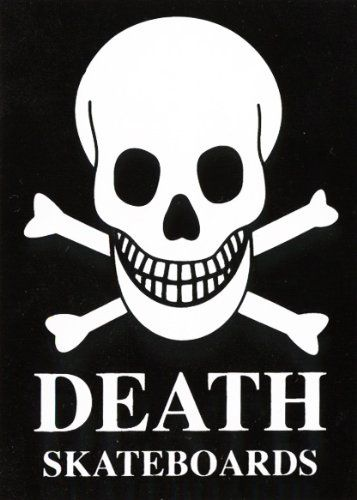 Death skateboards skull bones skateboard sticker skate board sticker cheapest http