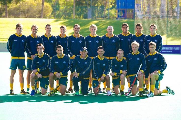 Kookaburras Olympic Team: Des Abbott(NT) Nathan Burgers(QLD), Matthew Butturini(NSW), Joel Carroll(NT), Chris Ciriello(VIC), Tim Deavin(TAS), Liam De Young(QLD), Jamie Dwyer(QLD), Matt Gohdes(QLD), Kieran Govers(NSW), Fergus Kavanagh(WA), Mark Knowles(QLD), Eddie Ockenden(TAS), Simon Orchard(NSW), Matthew Swann(QLD), Glenn Turner(ACT)