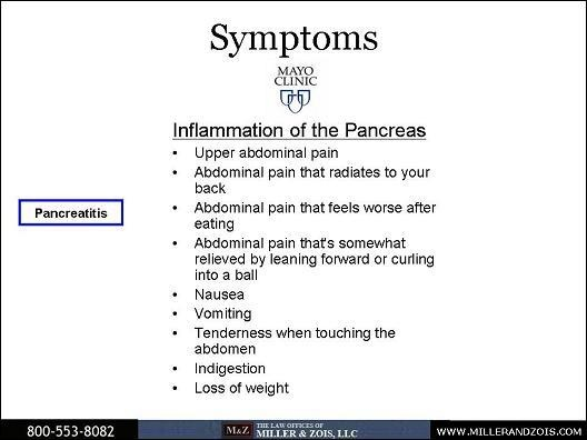 pancreatitis causes and symptoms As the disease continues to create scar tissue and damage the pancreas, the risk  for certain conditions like diabetes and pancreatic cancer.