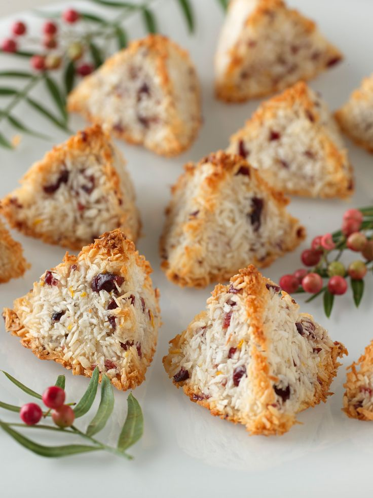 Coconut-Cranberry Macaroon Recipe : Food Network Kitchen : Food Network - FoodNetwork.com