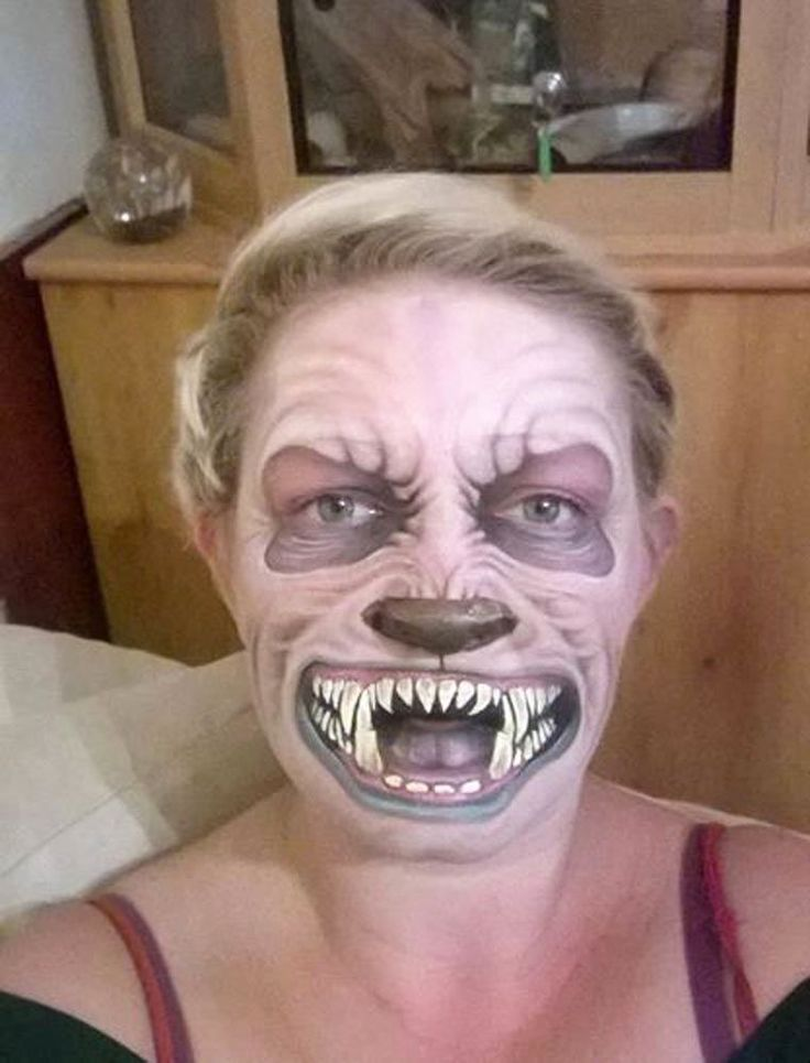 The Twisted Halloween Makeup of Nikki Shelley (20 Pics) | Pleated-Jeans.com