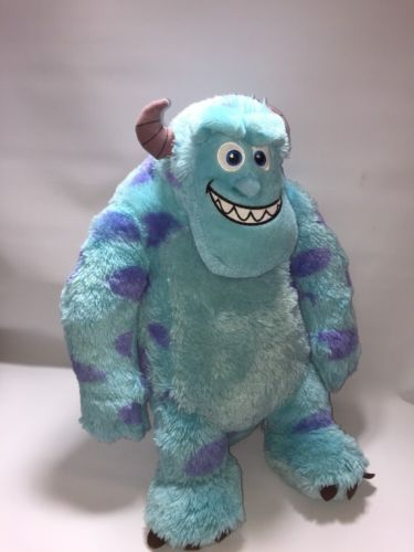 "Disney Pixar Monsters University Sully James P Sullivan Soft Plush Toy Large 20"" in Toys & Games, TV & Film Character Toys, Film & Disney Characters 