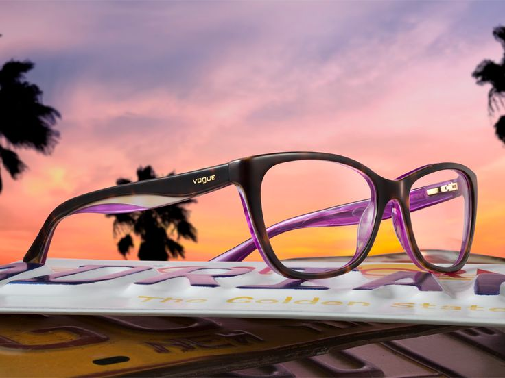 Cali sunsets 24/7, 365. Almost as beautiful as these new Rainbow glasses.