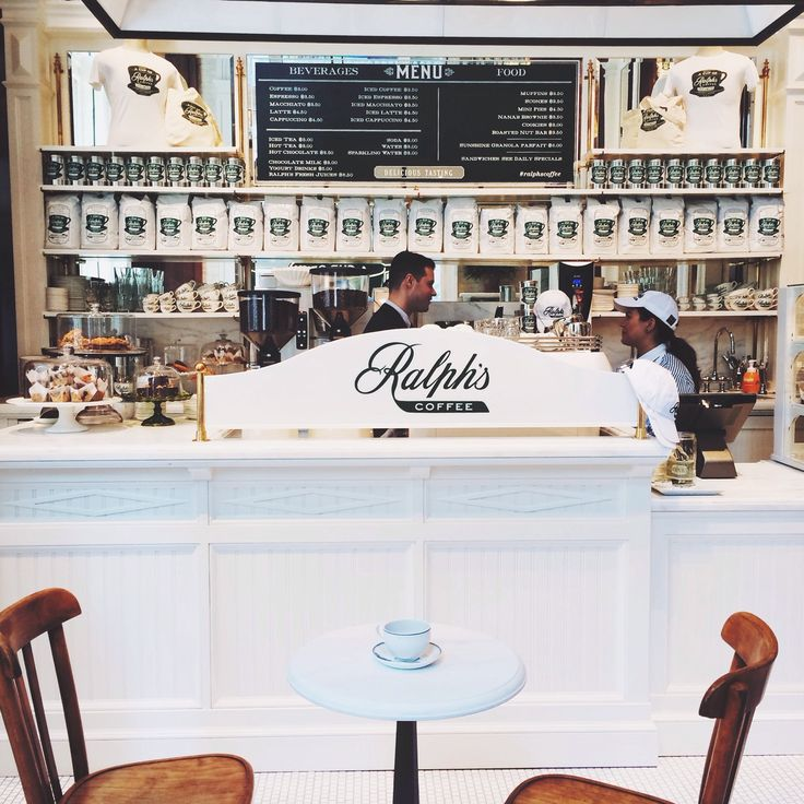 Ralph Lauren's coffee shop, Ralph's, NYC.