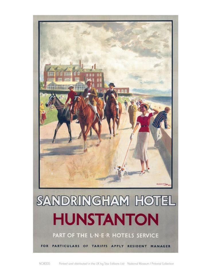 Sandringham Hotel Hunstanton Art Print