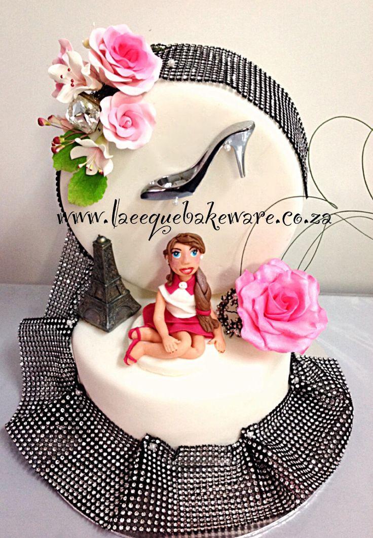 Sweet fashion cake