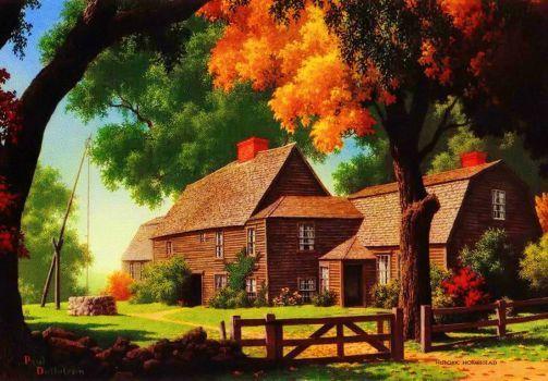 Autumn countryside (96 pieces)