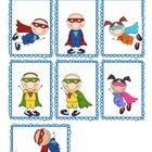 Use these Superhero name tags in your classroom to label book boxes, desks, books, and more. The kids will love these!...