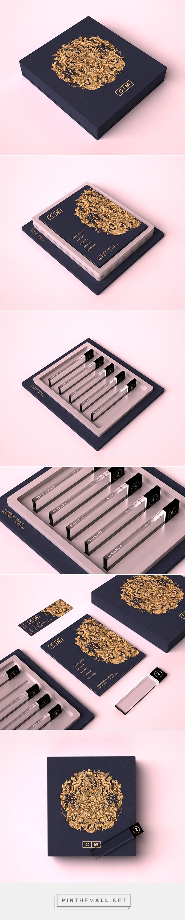 Packaging for a Classical Music Collection PD