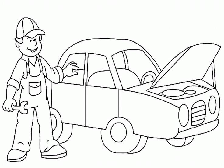 Papa Wapper en het rode kraanwagentje Pech onderweg